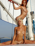 LIDIYA A & LANA F BY GONCHAROV - EXCURSION - ORIG. PHOTOS AT 4200 PIXELS